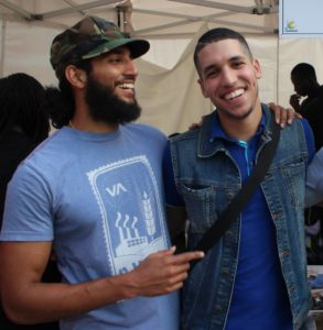 Arnold et Mohamed