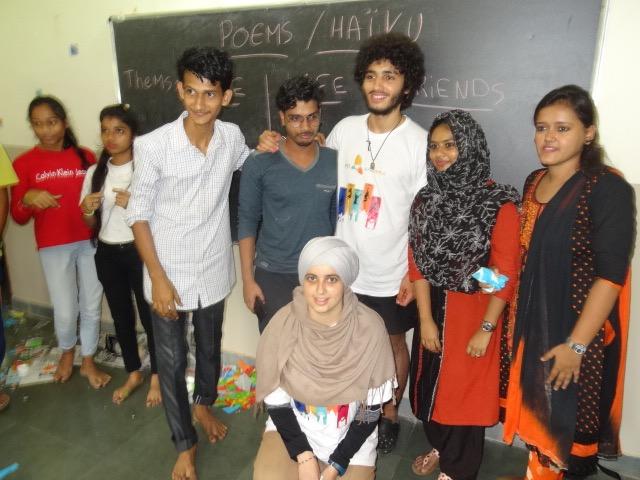 Nour en Inde été 2018